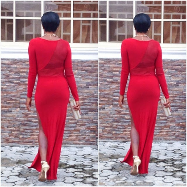 Chika Ike's Outfit To Nkiru Sylvanus' Movie Premiere Tonight