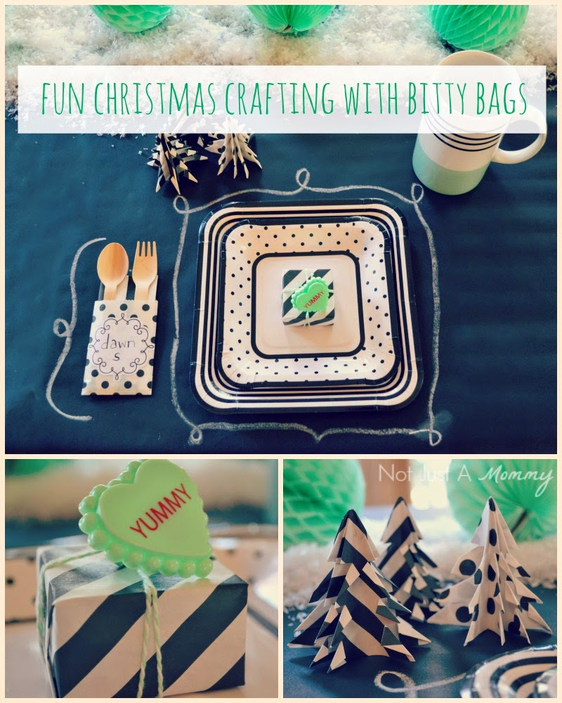 Christmas Crafting With Bitty Bags