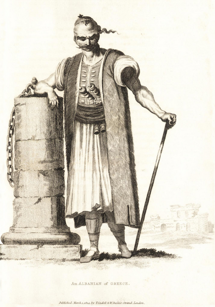 Albanian of Greece