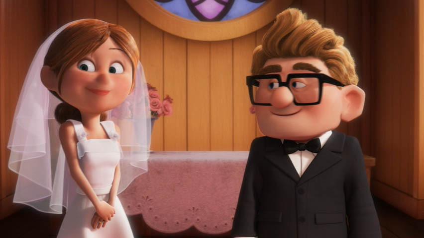 Ciudadano Noodles: Pixar: Up!.... Cinco minutos de Amor y de Vida.