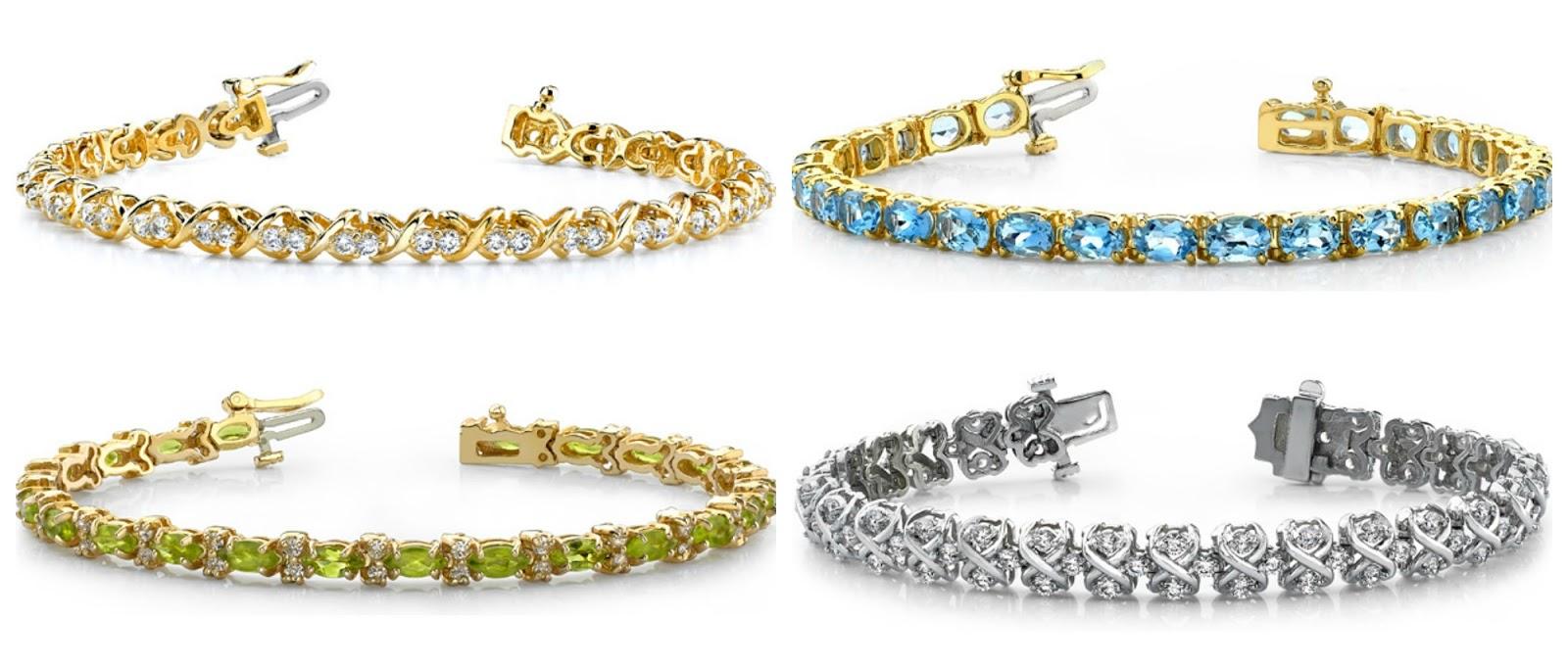 Gemstones bracelets, Designer bracelets