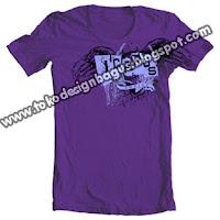 design t-shirt gambar logo sayap