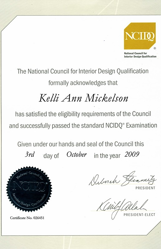 Interior Design Certificate All Informations You Needs