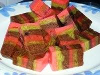 Kek Lapis Choc Almond