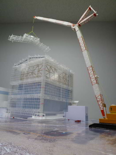 купол над АЭС Фукусима