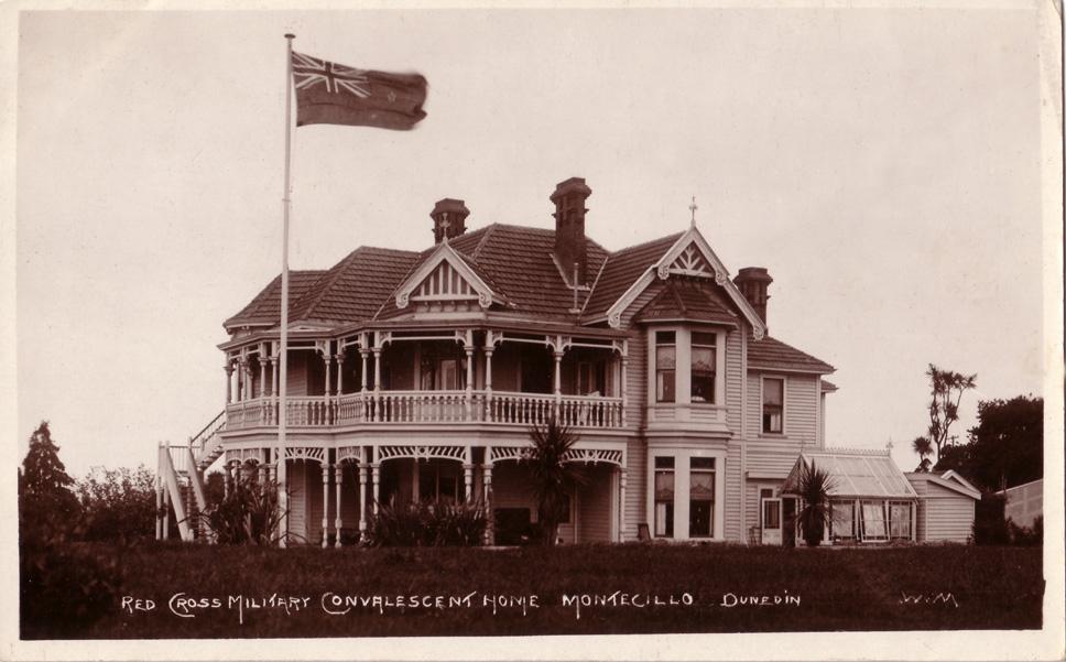 100 New Zealand First World War Postcards Red Cross