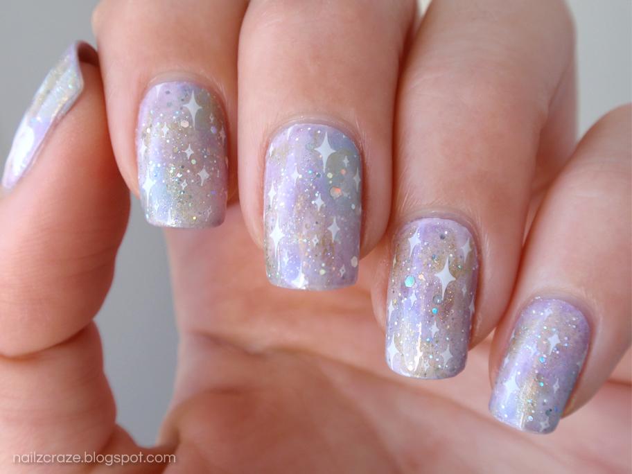 Whimsical Galaxy Nails - Nailz Craze