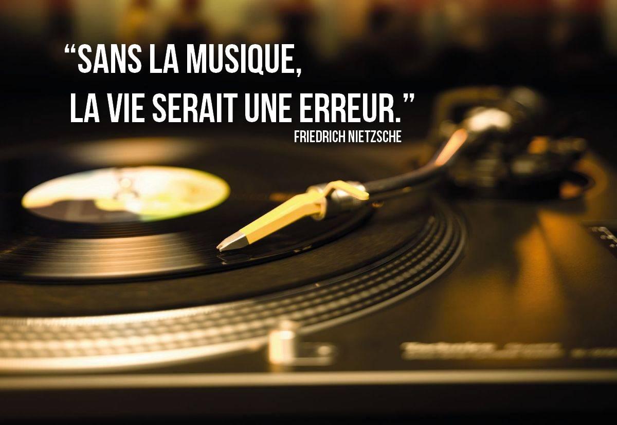 Citation Nietzsche Musique : Friedrich nietzsche citation sans musique la vie serait une erreur