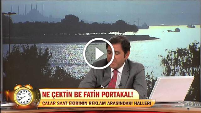 Fatih Portakal'ın Reklam Arasındaki Halleri