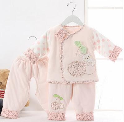 model baju bayi baru lahir perempuan