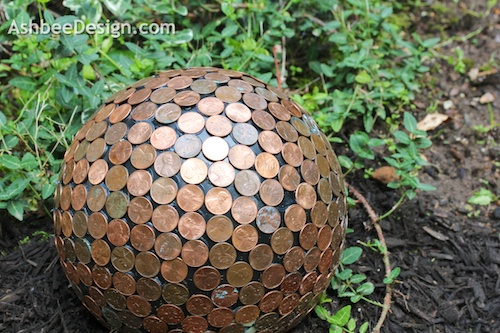 ashbee design penny ball to combat slugs
