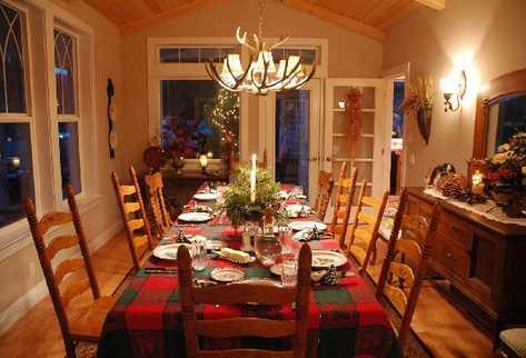 Haz regalos las mejores ideas para tus regalos c mo decorar la mesa navide a - Vajilla rustica ...