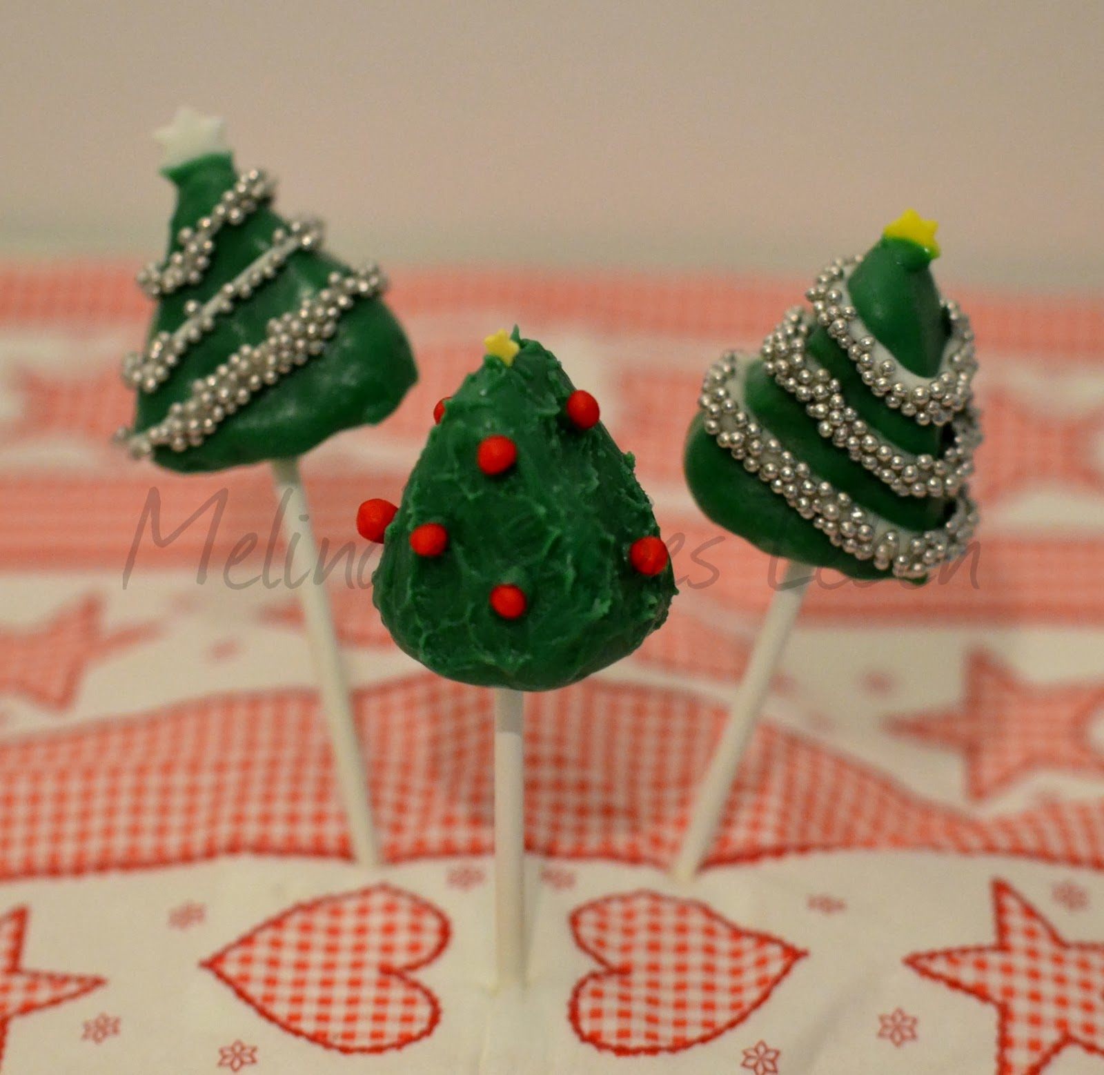 melina 39 s s es leben weihnachtsbaum x mas tree cake pops. Black Bedroom Furniture Sets. Home Design Ideas