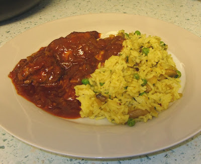 ... Eatwell's Rhubarb & Ginger: BBQ Paprika Chicken with mushroom rice