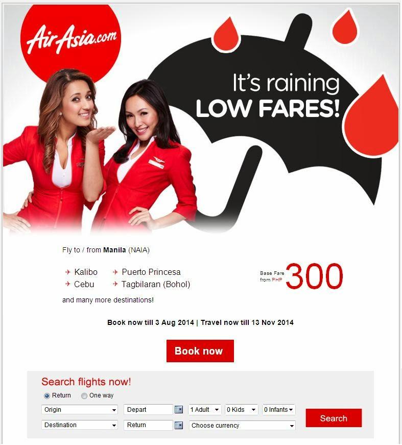 AIR ASIA LOW FARES 300