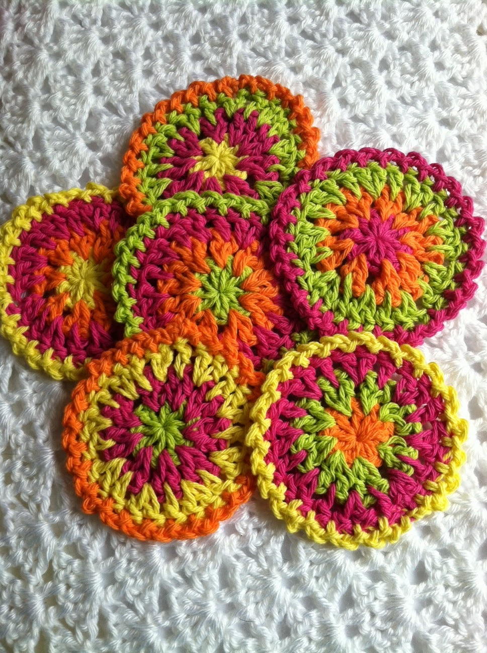 Free Crochet Pattern For Coaster : Lakeview Cottage Kids: FREE Pattern for
