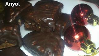 hojaldradas de chocolate