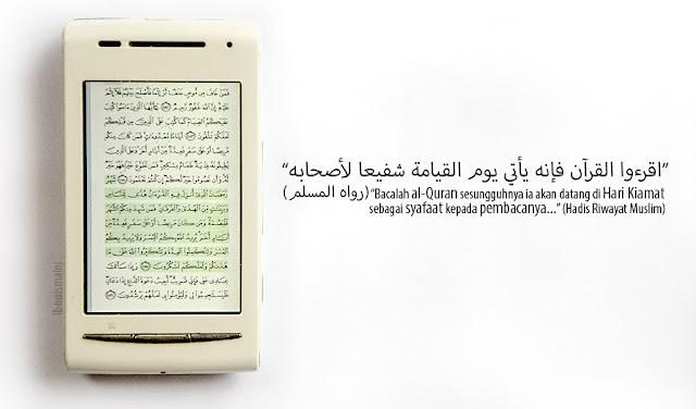 tadarus, al-quran, quran, qur'an, koran, syafaat, hadis, hadith