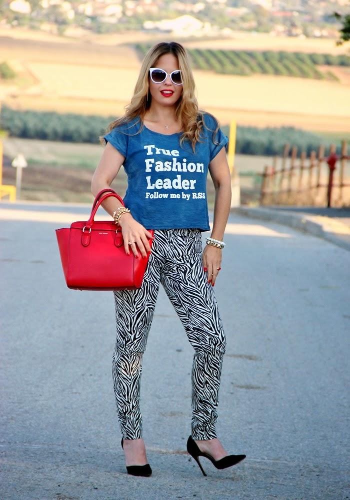 בלוג אופנה Vered'Style - מנגו טוטאל לוק