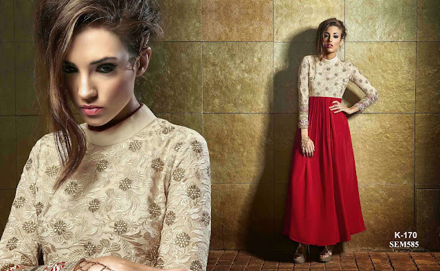 Buy New Attractive Anarkali Suit – Western Dress