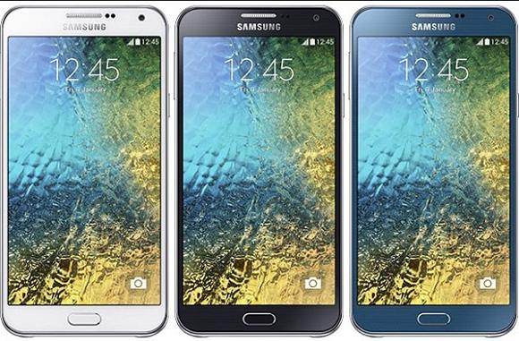 Harga Samsung Galaxy E5 Di Bekali kamera Depan 5 MP