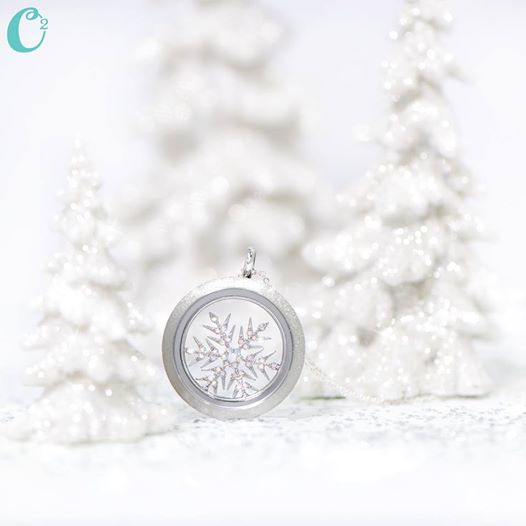 If kisses were you could send her a blizzard! | Create your own Origami Owl Living Locket today at StoriedCharms.com