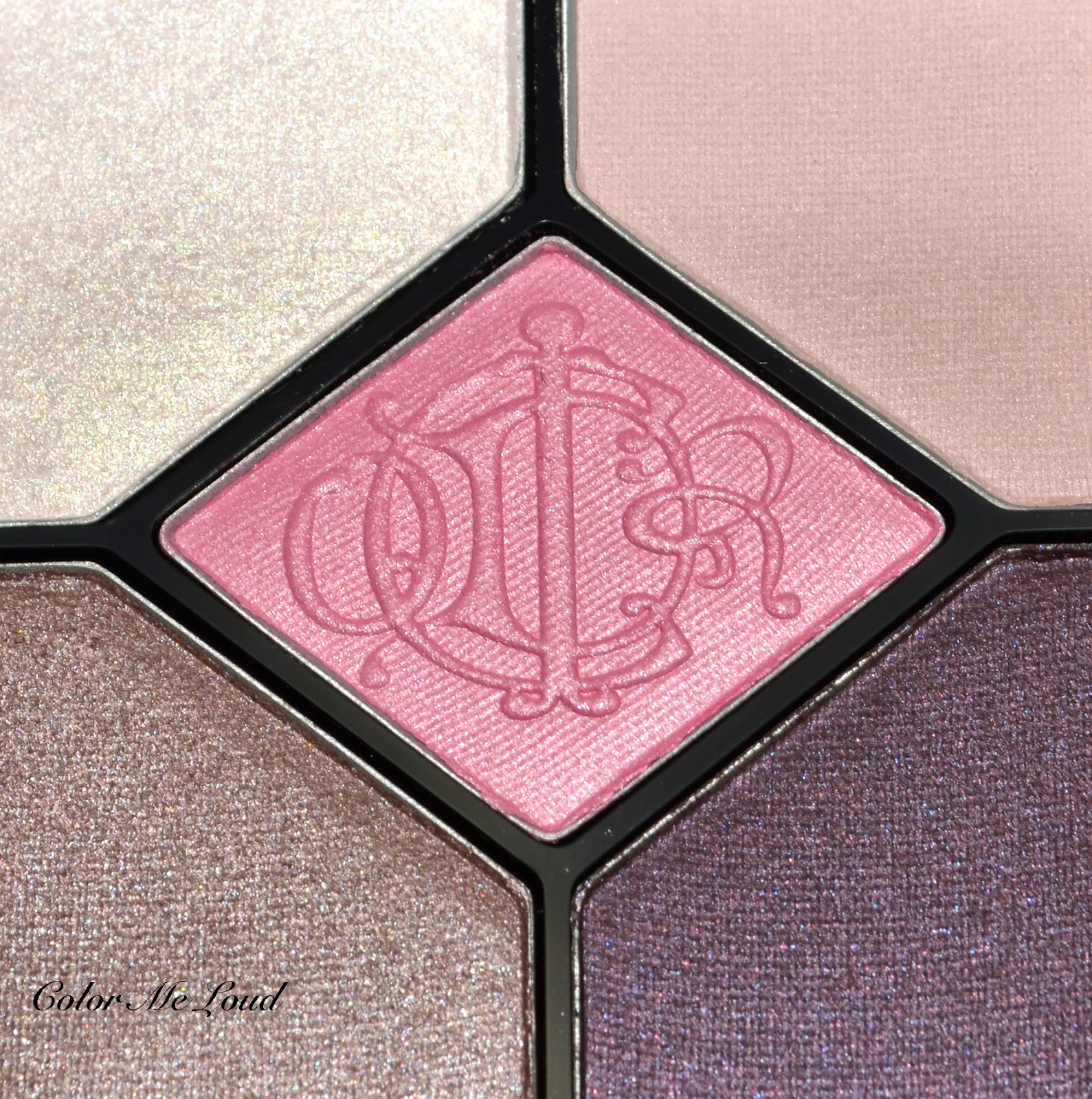 Close-up: Dior 5 Couleurs #856 House of Pinks