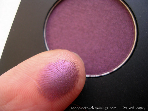Inglot Plum Purple eyeshadows freedom system palette swatches reviews pearl 439 446 amc 79