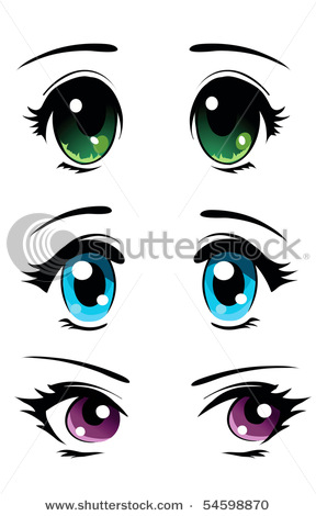 Many Anime And Manga Characters Feature Large Eyes Osamu Tezuka Who Is Believed To Have Been The First Use This Technique Was Inspired By