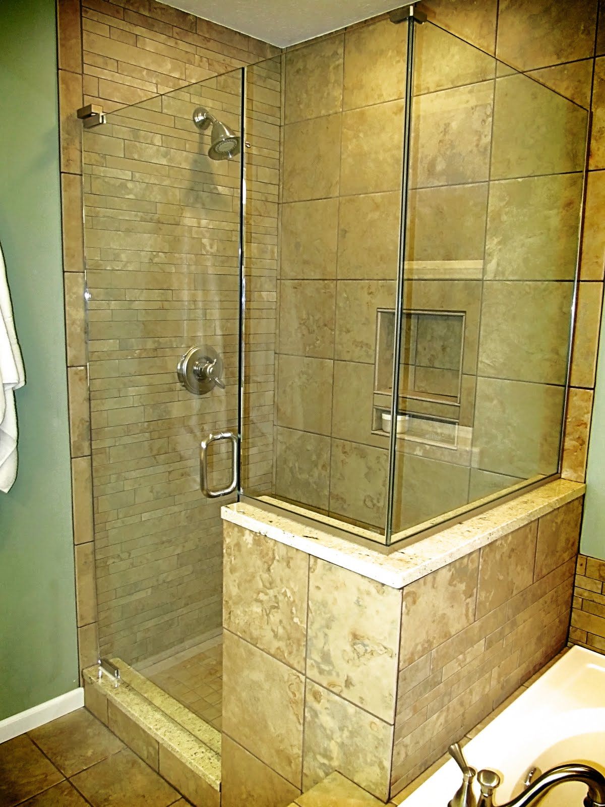 Remodelaholic Master Bathroom Before After And Everything Between