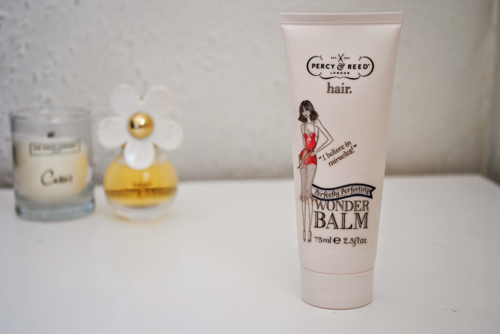 Sally Says Beauty - Percy and Reed Wonder Balm Review Hair Product Blog Post
