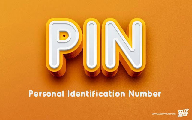 PIN-PERSONAL-IDENTIFICATION-NUMBER