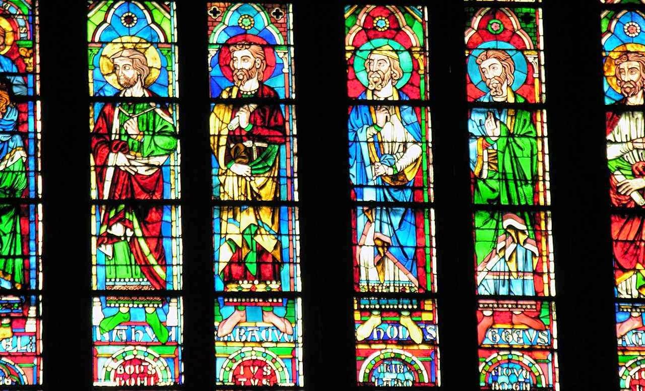 Profetas do Antigo Testamento, catedral de Notre Dame, Paris