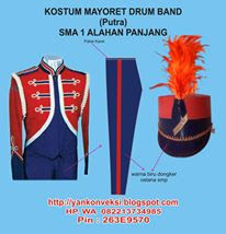 SERAGAM DRUMBAND  MARCHING BAND