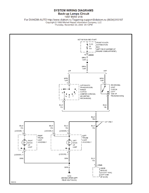 wiring diagrams and free manual ebooks  1997 bmw 318i back