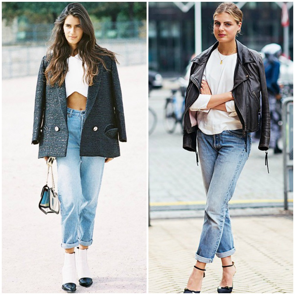 cropped boyfriend jeans - top uk fashion blog trends 2014 street style outfits