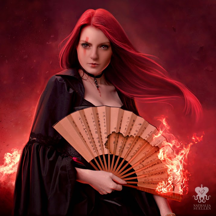 04-She-Burns-Nathalia-Suellen-Photography-Digital-Painting-To-Die-For-www-designstack-co