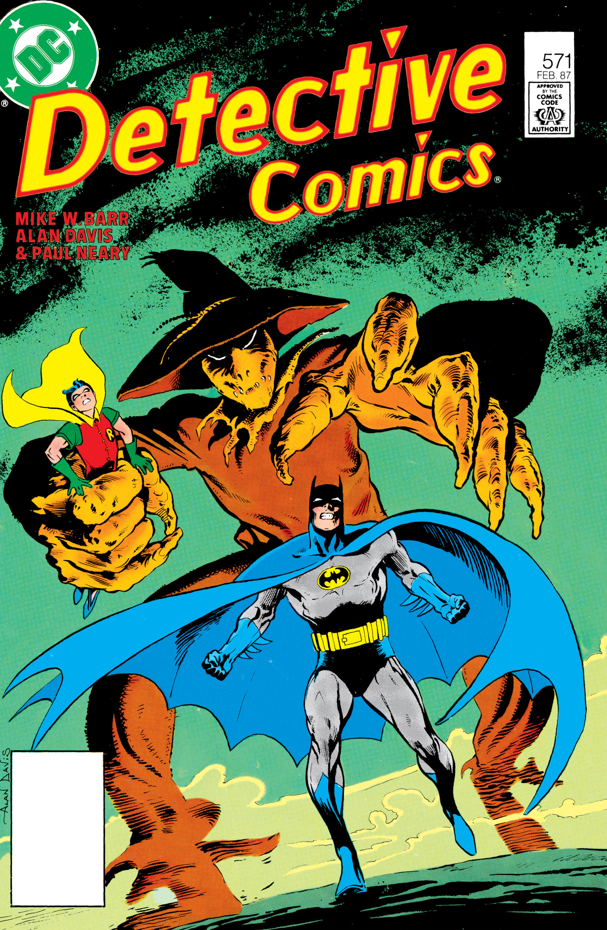 Detective Comics (1937) Issue #571 Page 1