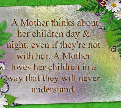 Quotes and Sayings: MOTHER LOVE