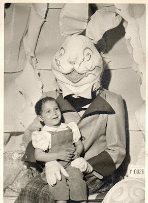 The Vintage Creepy Easter Bunny