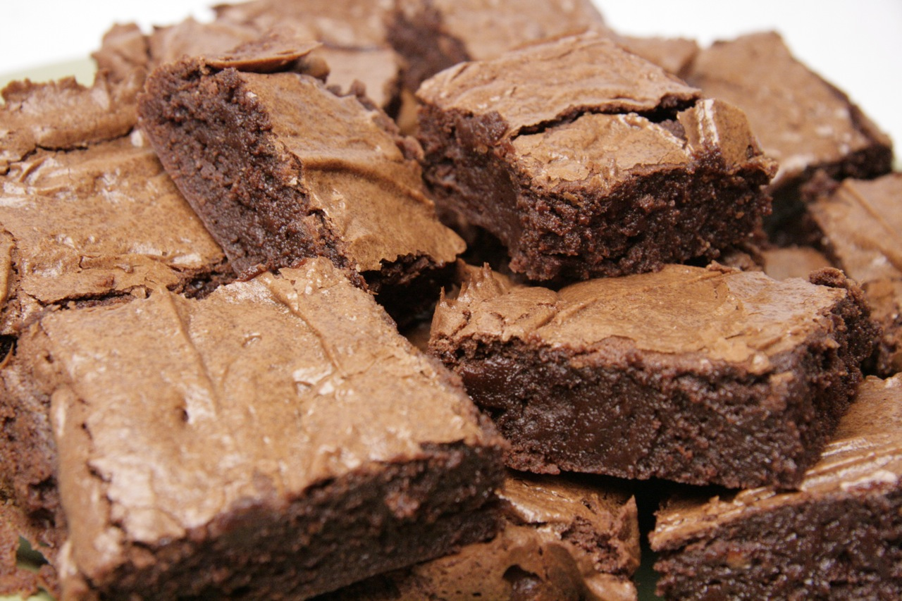 For sweetness in 2012: Chewy Brownies | Feast of Joy