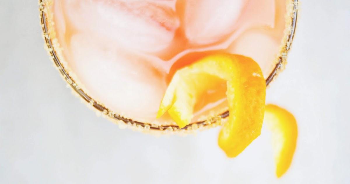 Guava-Orange Margaritas