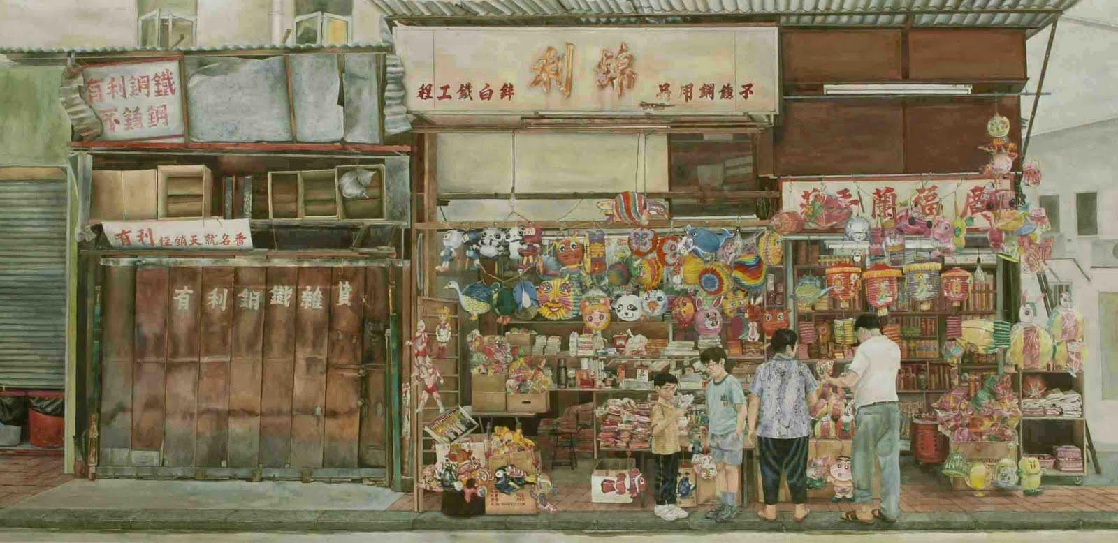 My favorite lantern - cleverly street, hong kong