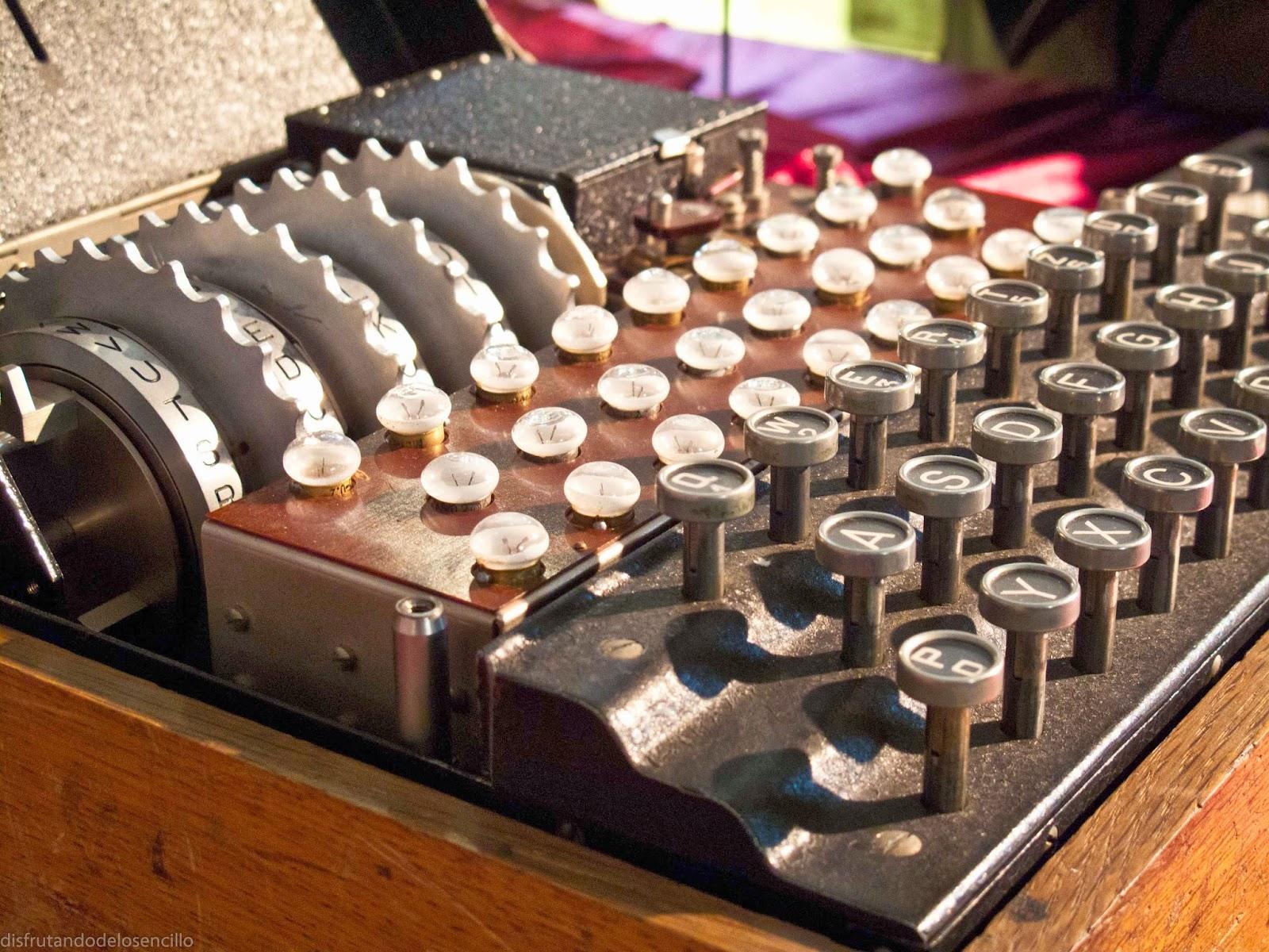 enigma 4 rodillos,museo radiotransmisiones bocanegra, belorado,burgos