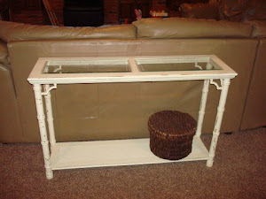 Bamboo entry table *SOLD*