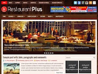 RestaurantPlus - Premium Blogger Templates Free Download