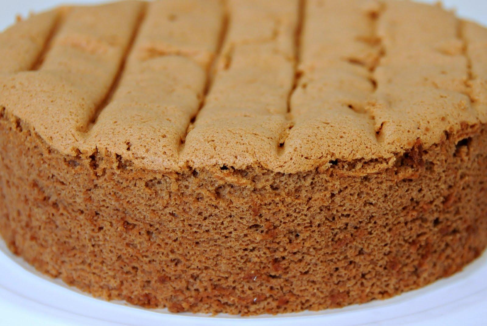 my-sweet-hut: Chocolate Sponge Cake (Basic)