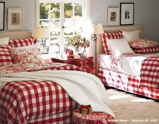 Camere Da Letto Bianca E Rossa: Colore delle pareti. Camera da ...