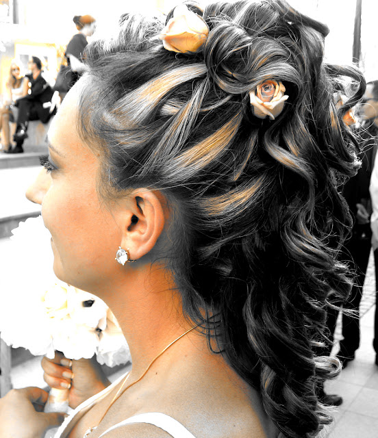 wedding hairstyles for long hair 2010