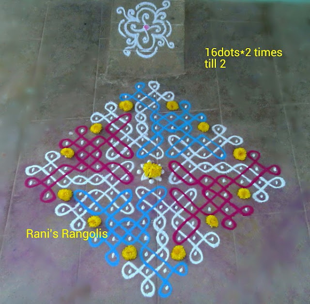 Rangoli with Dots 1